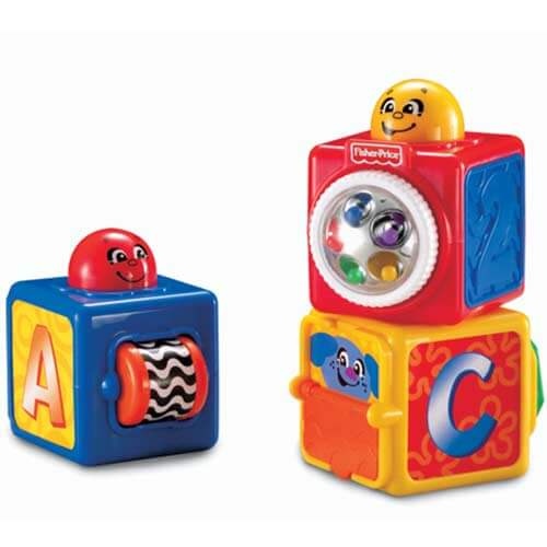 Кубики с сюрпризами Fisher-Price