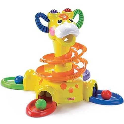 Жираф Держись и вставай Fisher price