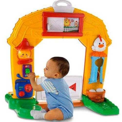 интерактивная ферма Fisher-Price в прокат минск